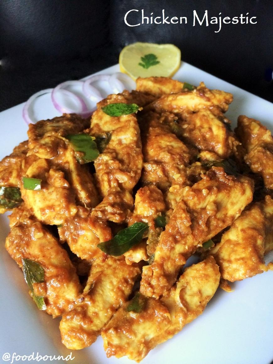 Chicken Majestic Recipe   www.foodbound.wordpress.com